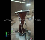 Mimbar Masjid Minimalis Special Produk Asli Furniture Jepara MM PM 1349