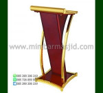 Mimbar Minimalis Jati Furniture Jepara Desain Furniture Modern MM PM 1089