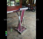 Mimbar Minimalis Stainless Mebel Terbaru Asli Furniture Jepara MM PM 1325