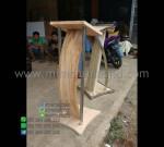 Mimbar Mushola Minimalis Special Produk Desain Furniture Modern MM PM 1257