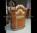 Mimbar Pidato Minimalis Furniture Jati Ready Stock Siap Kirim MM PM 1333