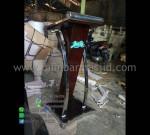 Mimbar Pidato Minimalis Mebel Terbaru Ready Stock Siap Kirim MM PM 1283