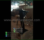 Mimbar Pidato Minimalis Produk Unggulan Asli Furniture Jepara MM PM 1373