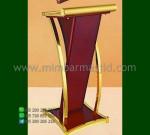Mimbar Podium Minimalis Mebel Jepara Promo Furniture Terlaris MM PM 1090