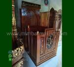 Paling Laku Mimbar Atap Kubah Desain Furniture Modern MM 239