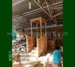 Paling Laku Mimbar Masjid Ukiran Kubah Ready Stock Siap Kirim MM 289