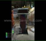 Podium Kayu Jati Minimalis Furniture Terlaris Product Paling Laris MM PM 1363