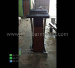 Podium Kayu Jati Paling Laris Furniture Best Seller MM PM 1345