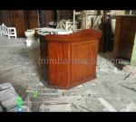 Podium Kayu Minimalis Furniture Jati diskon Special Promo MM PM 1266