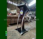 Podium Kayu Minimalis Paling Laku Desain Furniture Modern MM PM 1185