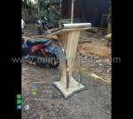Podium Masjid Minimalis Paling Laris Stock Mebel Terbaru MM PM 1320