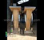 Podium Masjid Sederhana Produk Terlaris dari Mebel Minimalis MM PM 1274