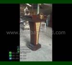 Podium Mimbar Minimalis Furniture Modern dengan Special Produk MM PM 1362
