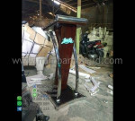 Podium Stainless Minimalis Produk Unggulan Desain Furniture Modern MM PM 1281