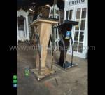 Podium Stainless Minimalis Promo Stock Desain Paling Laku MM PM 1200