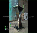 Podium Stainless Minimalis Special Promo Toko Online Furniture Minimalis MM PM 1371