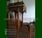 Produk Pilihan Mimbar Ukiran Atap Kubah Ready Order 085290206219 MM 197