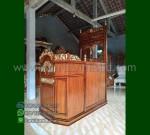 Promo Kami Mimbar Ukiran Atap Kubah Asli Furniture Jepara MM 209