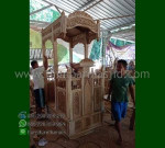 Promo Stock Mimbar Masjid Atap Kubah Toko Online Furniture Ukiran MM 279