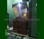 Promo Stock Mimbar Masjid Kubah Stock Mebel Terbaru MM 204
