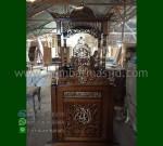 Ready Order Mimbar Masjid Atap Kubah Toko Online Furniture Ukiran MM 255