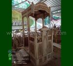 Ready Order Mimbar Ukir Kubah dari Mebel Ukiran MM 280