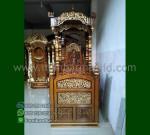 Ready Stock Mimbar Kubah Jati Jepara Produk Unggulan Mewah MM 226