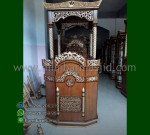 Ready Stock Mimbar Masjid Ukiran Kubah Furniture Best Seller MM 301