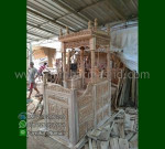 Special Produk Mimbar Kubah Jati Jepara Model Produk Terbaru MM 286
