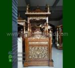 Special Produk Mimbar Masjid Atap Kubah Toko Online Furniture Ukiran MM 231