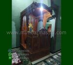 Special Produk Mimbar Masjid Ukir Atap Kubah Desain Paling Laku MM 206