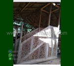 Special Promo Mimbar Masjid Jati Atap Kubah Produk Mebel Jepara MM 258