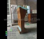 Ukuran Mimbar Masjid Mebel Jepara Desain Furniture Modern MM PM 1306
